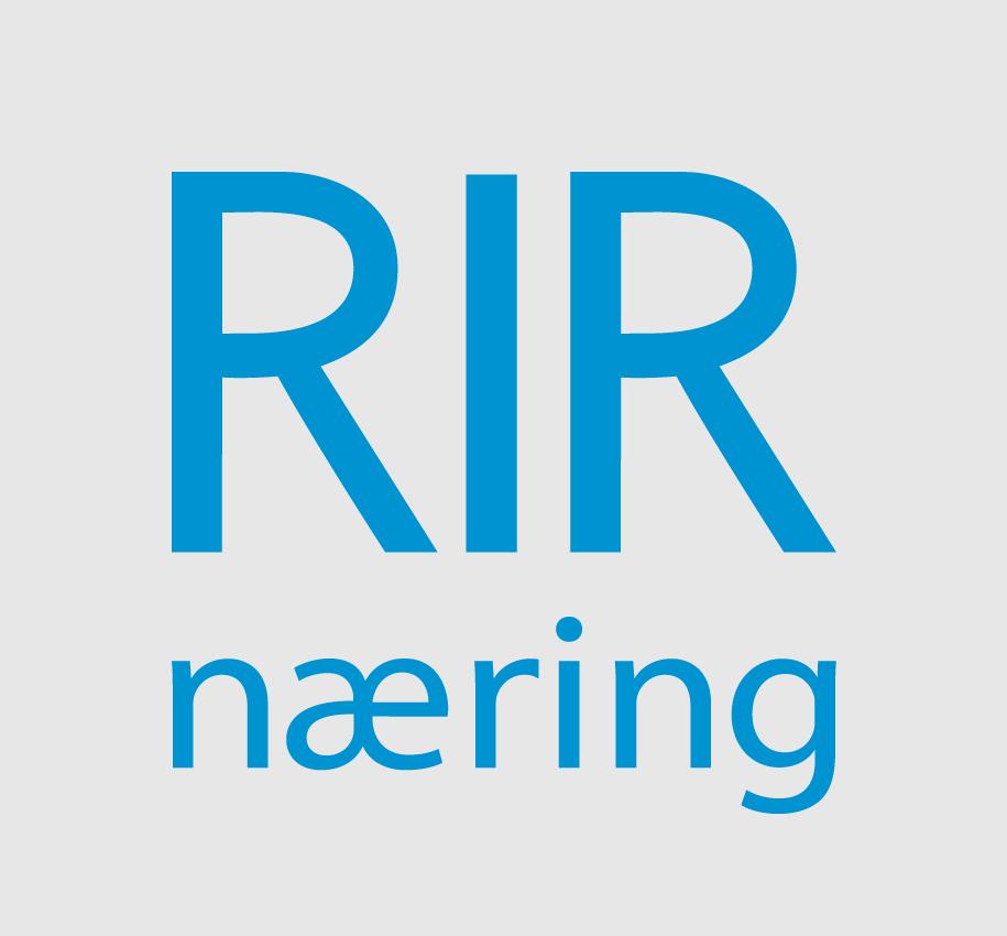 Logo: RIR Næring - Klikk for å navigere til toppen av forsiden